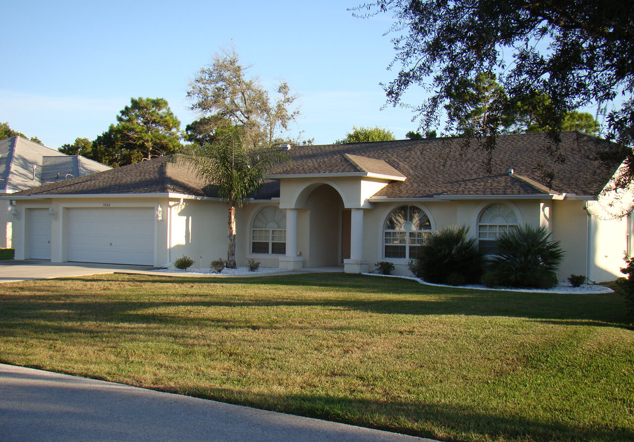 3 bedroom home 1073 Spring Hill Florida